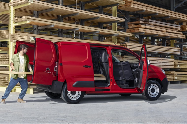 Citroen Berlingo load 2018