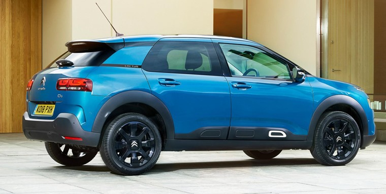 Citroen C4 Cactus side