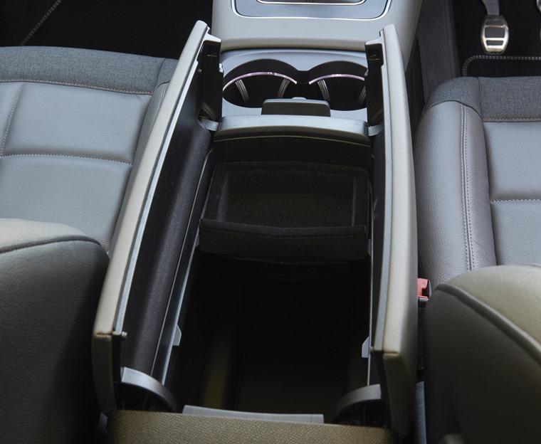 Citroen C5 Aircross centre console