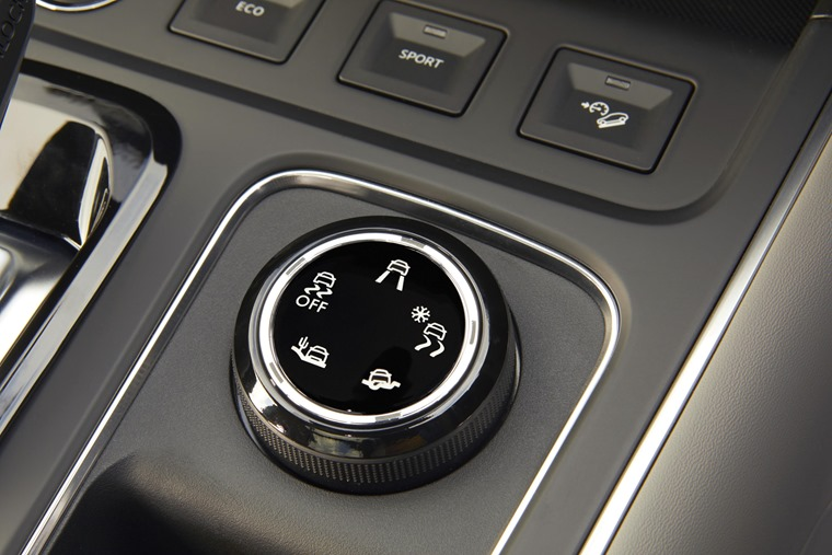 Citroen C5 Aircross Grip Control dial