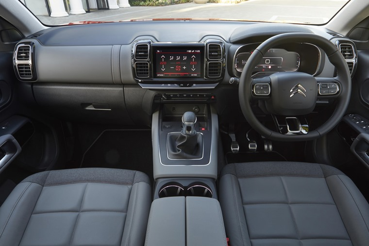 Citroen C5 Aircross interior front