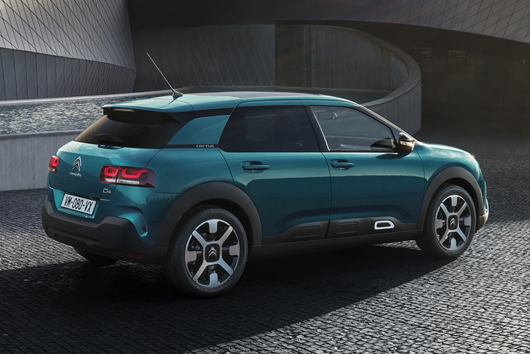 The new Citroen C4 Cactus will be available from early to mid 2018.