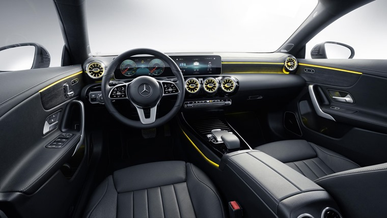 CLA Shooting Brake interior 2019