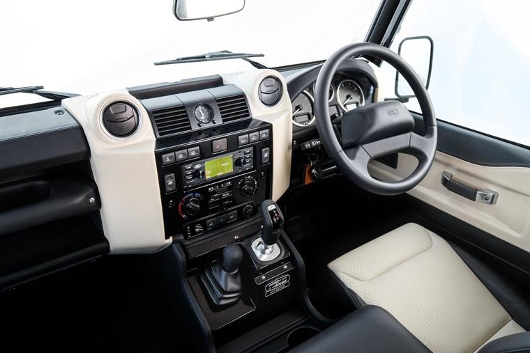 Land Rover Defender Works V8 interior