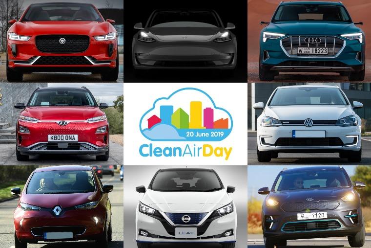 Clean Air Day 2019 EVs
