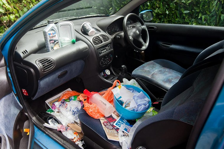 Pet Peeve #1: Leaving rubbish in the car. Photo: Sunday Times Driving