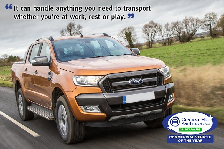 Best Commercial Vehicle - Ford Ranger