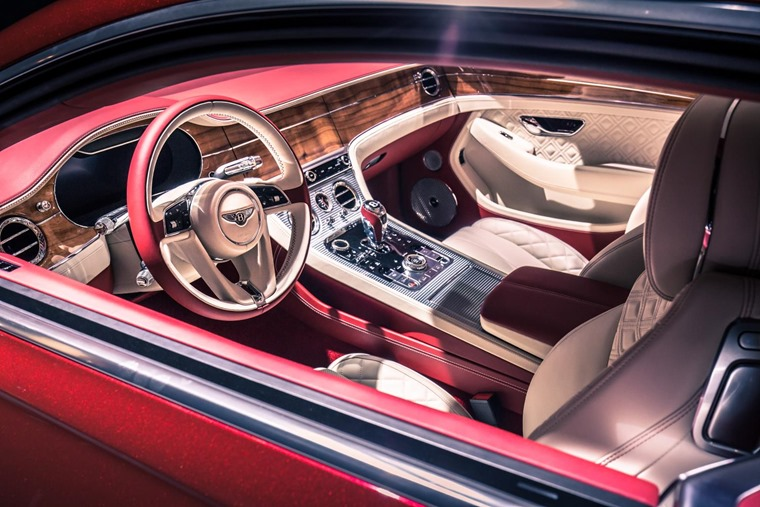 Gallery: Exquisite interior features a revolving infotainment system.