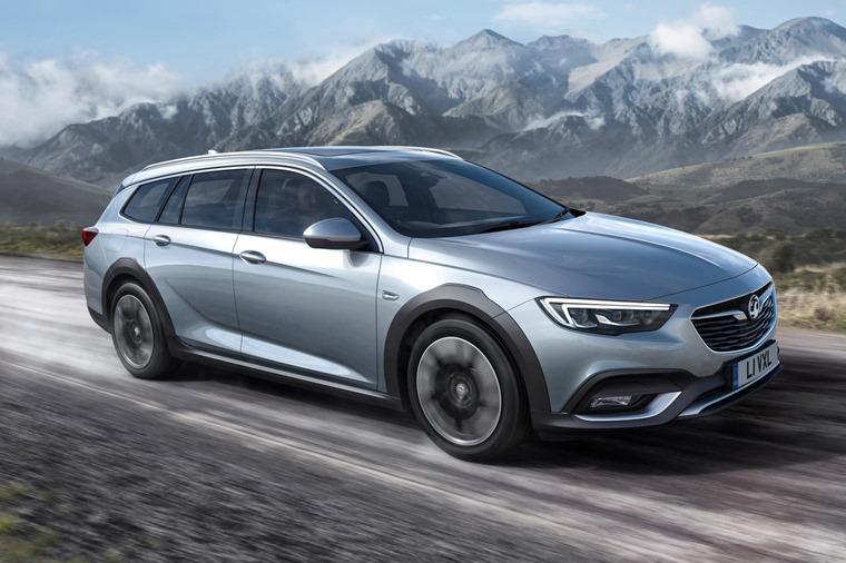 The Insignia Country Tourer gets raised suspension, an all-wheel drive system and chunky body work.