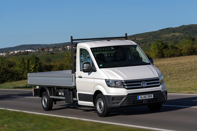 Volkswagen Crafter adds new models to line-up