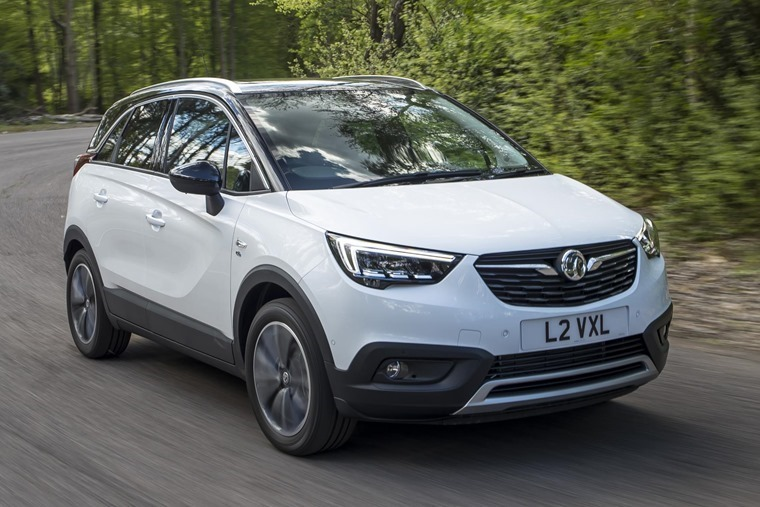 The new Crossland X: deceptively small.