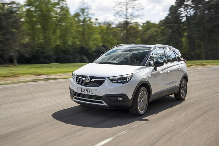 Vauxhall Crossland X lease available now