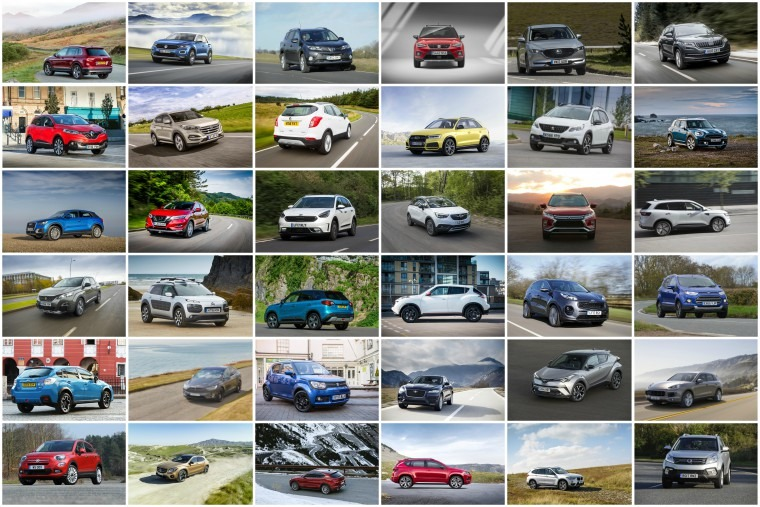 With dozens currently on the market, you're spoilt for choice if you're after an SUV or crossover...