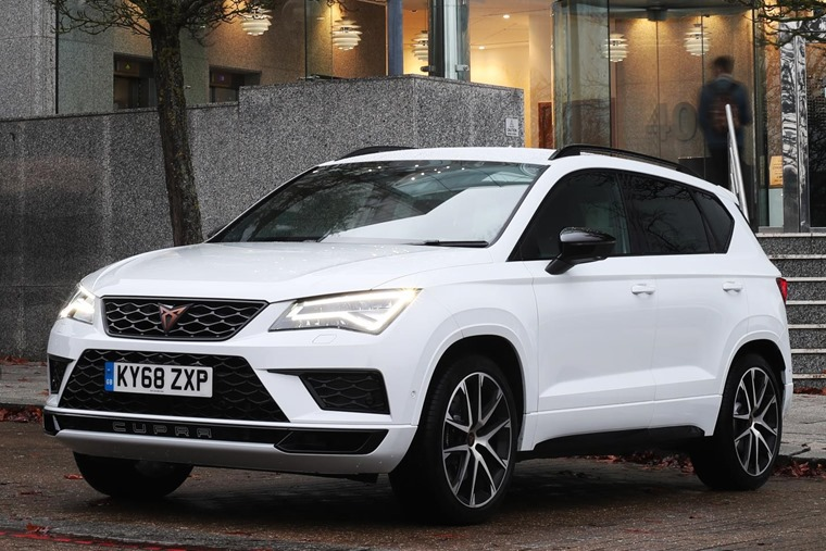 CUPRA Ateca UK launch - December 2018 (5)