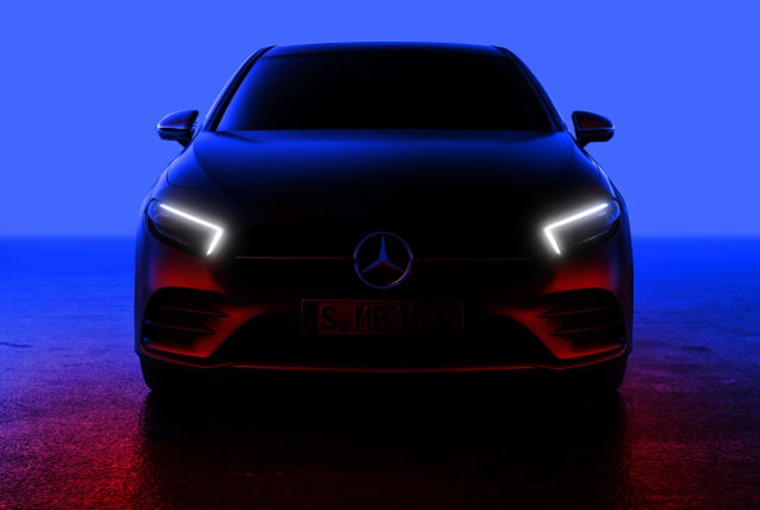 The all-new A-Class is set to be revealed this evening (2 Feb)