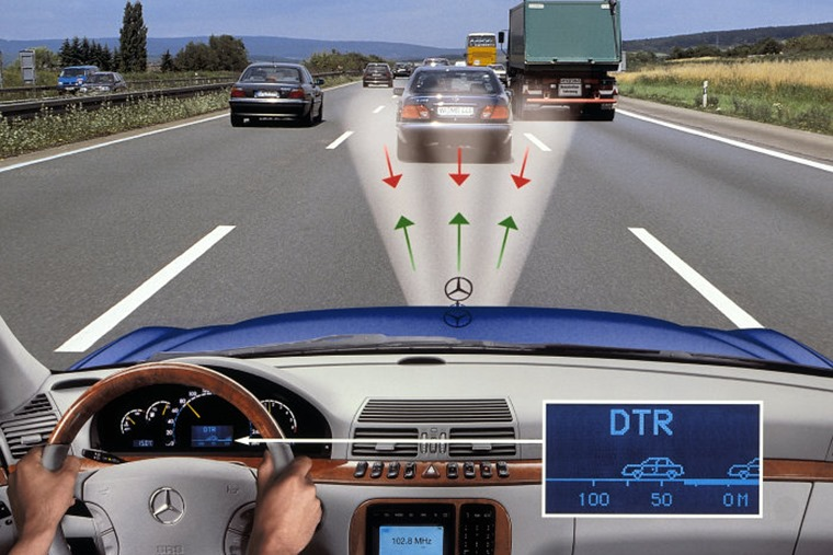 Mercedes-Benz S-Class boasted Adaptive Cruise Control in 1998