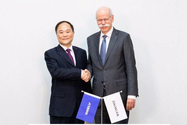 Daimler-Geely venture