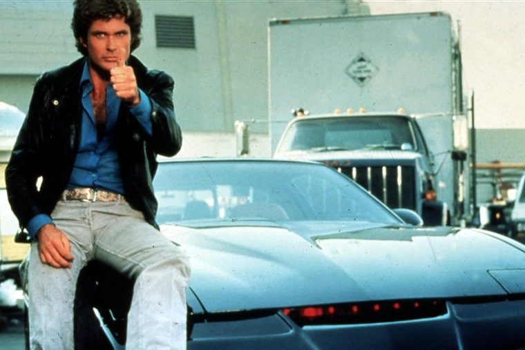 Remember KITT, the talking car from the 1980s television show Knight Rider?