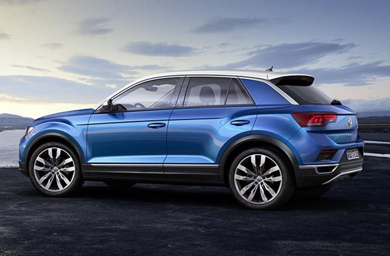 Volkswagen T-Roc side