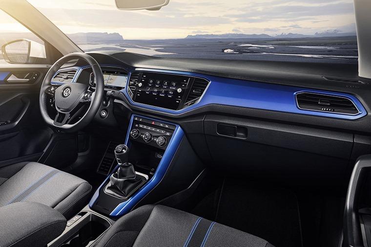Volkswagen T-Roc interior