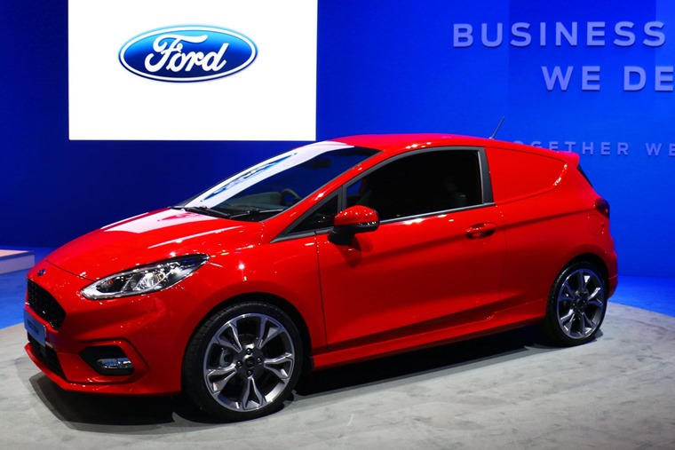 reveals all-new Fiesta Sport Van