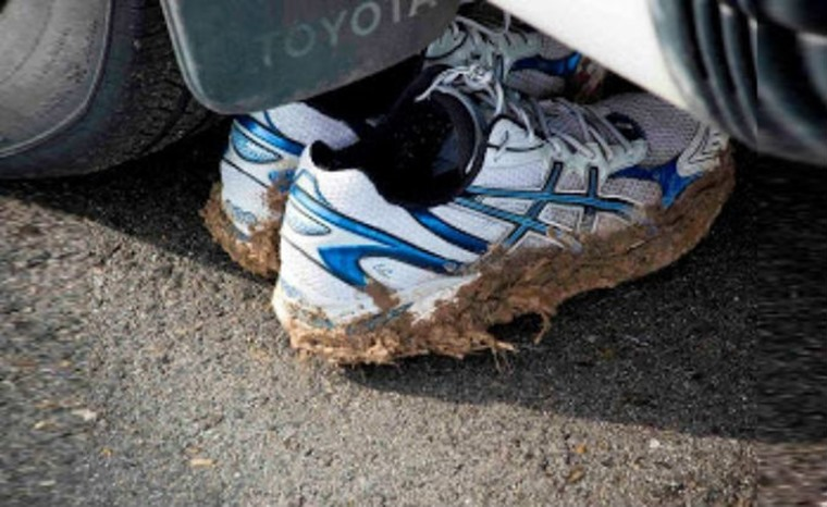 Pet Peeve #4: Dirty shoes. Photo courtesy of Inquistor