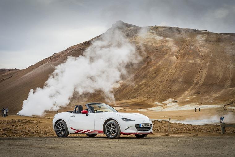 Iceland in a Mazda MX-5