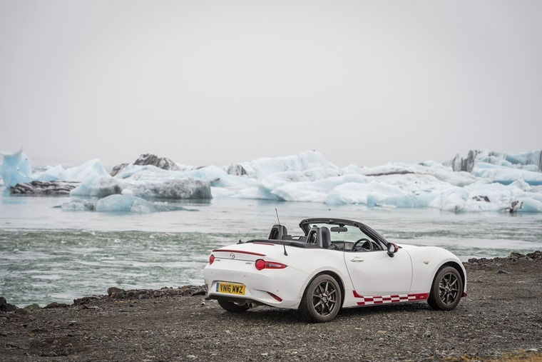 Al Suttie got to drive a Mazda MX-5 Icon special edition all the way around Iceland