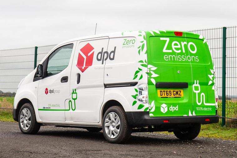 DPD zero emission e-NV200