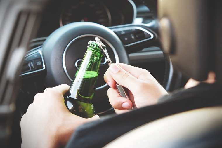 Evidence proves that even a small amount of alcohol in a driver's bloodstream is enough to impair reactions.