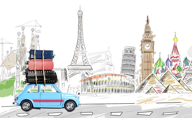 Driving Abroad image iStockSergey Peterman