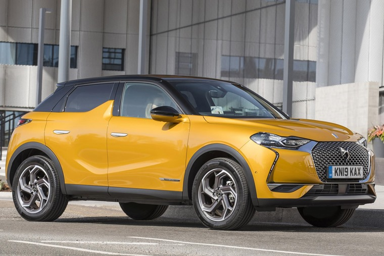 DS 3 Crossback 2019 front