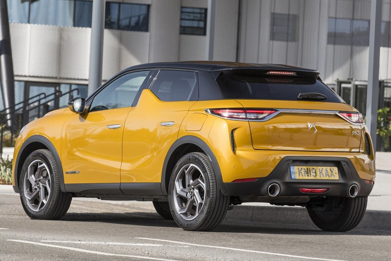 DS 3 Crossback 2019 rear