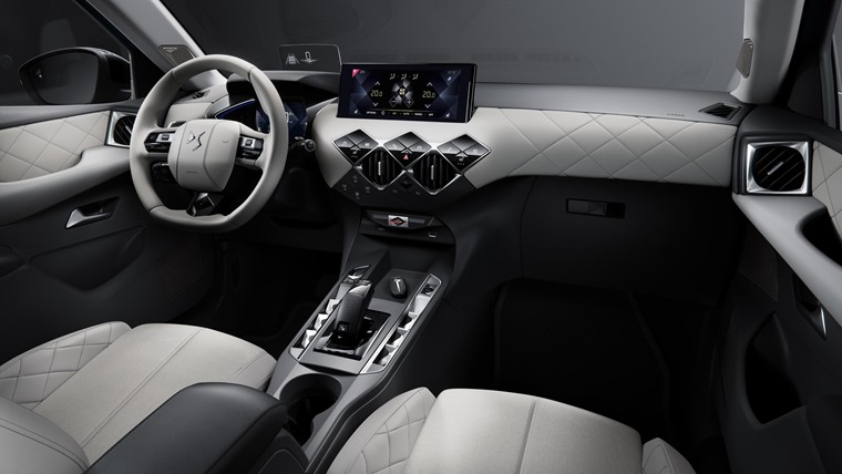 DS3 Crossback interior