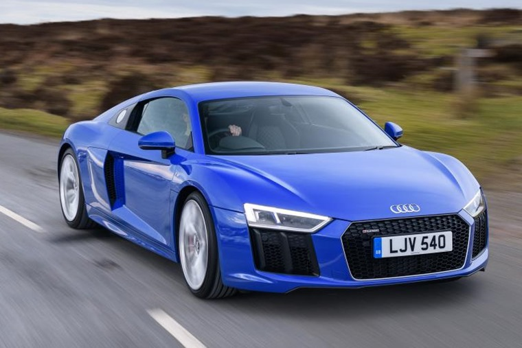First ever rear-wheel drive Audi R8 V10 arrives in UK next month