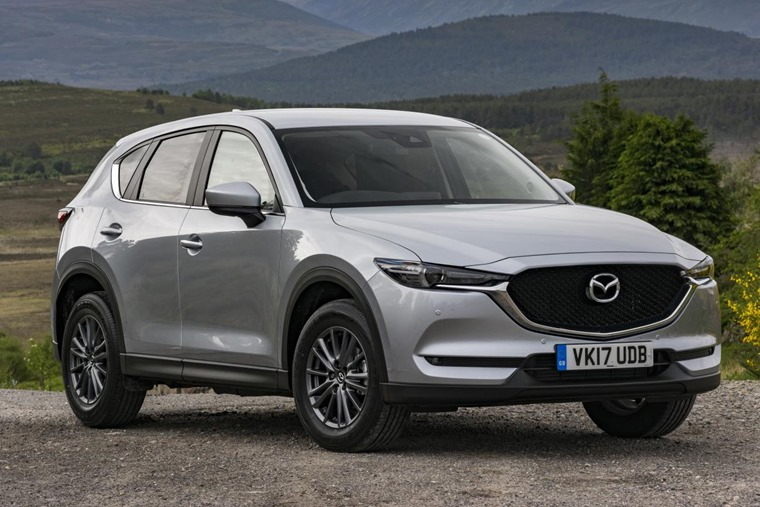 The new Mazda CX-5 is available now.