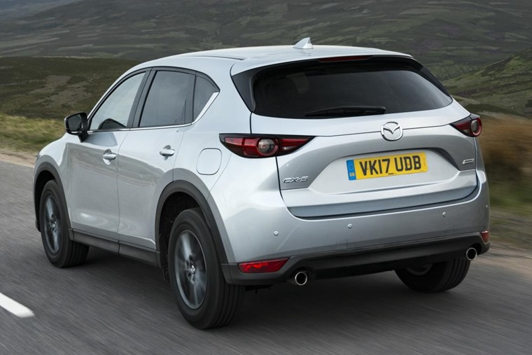Deliveries of the new CX-5 begin this month (June).