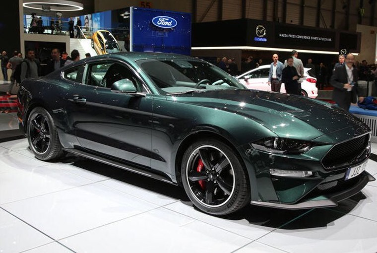 Ford Mustang Bullitt Geneva