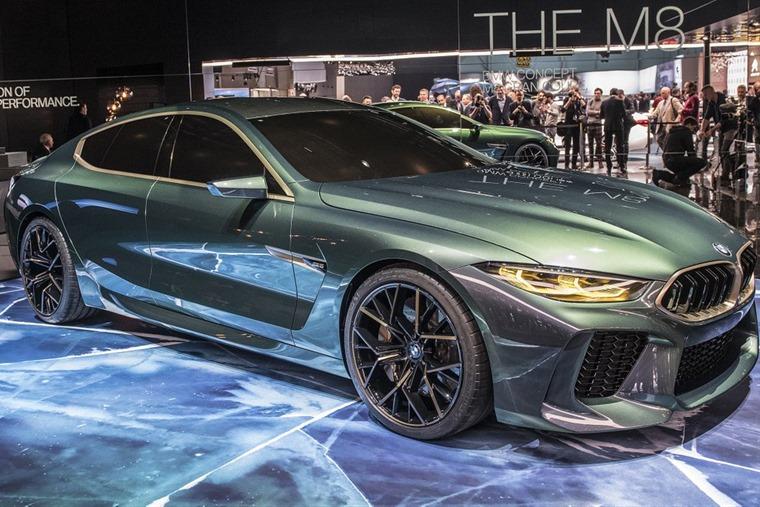 BMW M8 Geneva