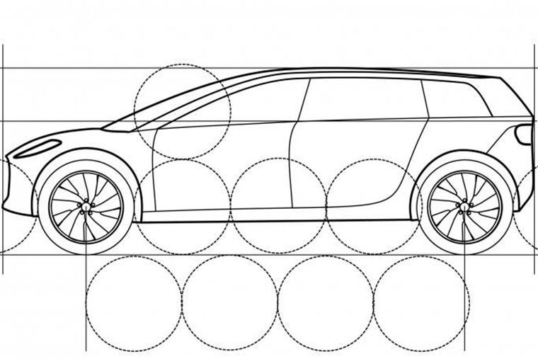 Dyson patent drawing EV