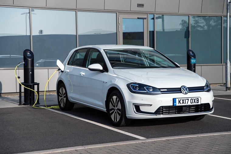 Volkswagen e-Golf for under £500 a month.