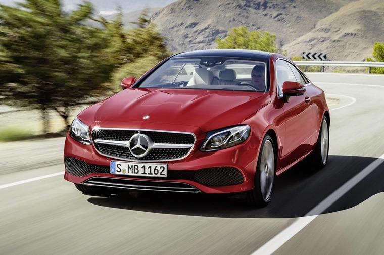 Mercedes E Cl Coupe Front N S