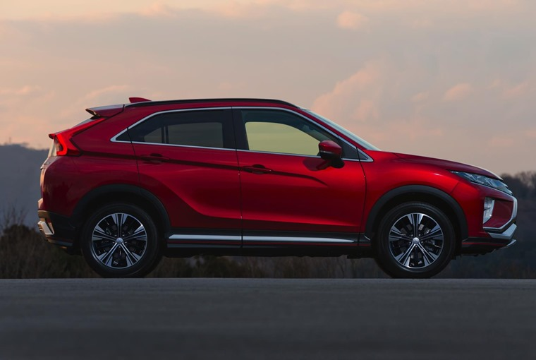 Eclipse Cross side view