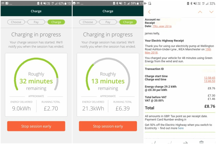 Ecotricity app lets you track charging