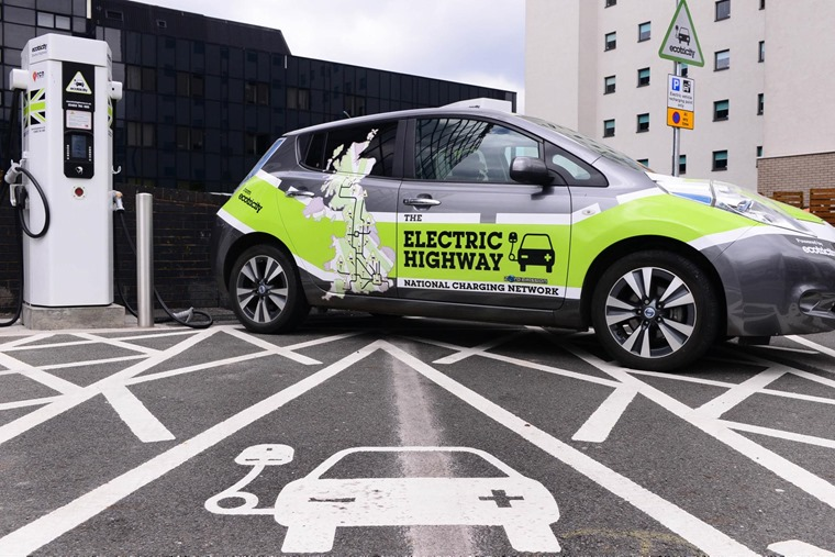 The Electric Highway - Nissan Leaf