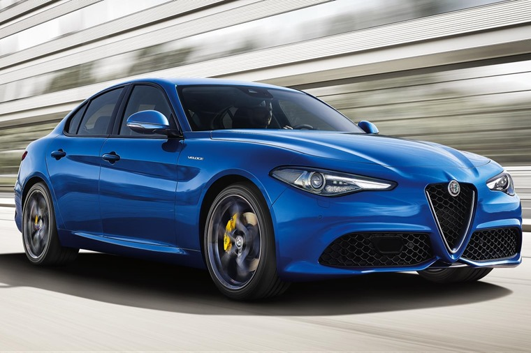 The Veloce model sits below the fire-breathing Quadrifoglio V6, but is still potent enough for most requirements.