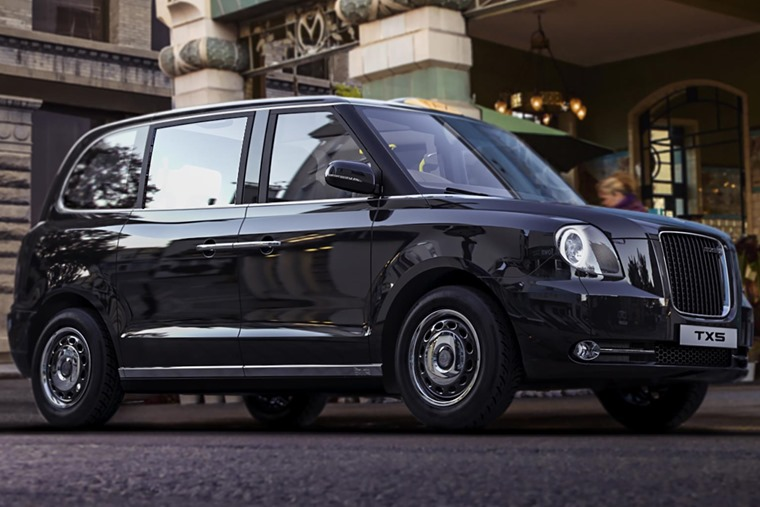 The all-new London taxi features an electric drivetrain.