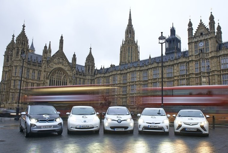 Ultra Low Emission Vehicles are exempt from the London Congestion Charge