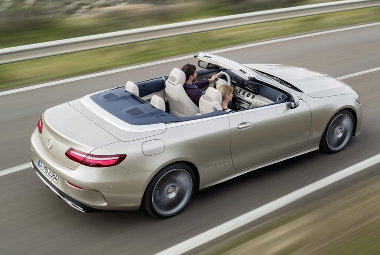 The E-Class Cabriolet will be officially launched at the upcoming Geneva Motor Show.