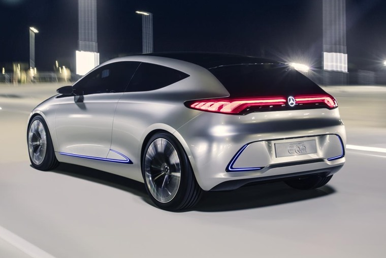It's due in production by 2020, and will follow a five-door EQ that'll hit the market in 2019.